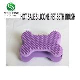 Горячие продажи силиконового герметика шерсть Уход за ванной щетки