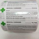 Pop médicos viales etiqueta Rx