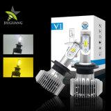 工場卸し売り8000lm黄色く白い防水LED車のヘッドライト、車LEDのヘッドライトの球根H13