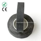 化学ファイバーの布テープを絶縁する騒音減少の黒