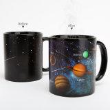 태양계 별 일요일 색깔 변화 컵 창조적인 선물 세라믹 색깔 변화 컵 창조적인 커피 별 컵 도매