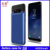 4000mAh Batería de respaldo del Banco de alimentación externa para Samsung S8