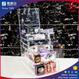 Cadre acrylique de renivellement de rangée faite sur commande claire de Yageli