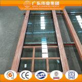La meilleure porte de vente d'aluminium de surface de transfert de fibre de bois