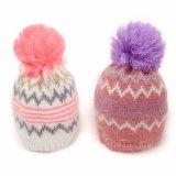 아크릴 베레모 순수한 색깔에 의하여 뜨개질을 하는 모자류 장비