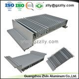 6000의 시리즈 알루미늄 합금은 알루미늄 밀어남 열 싱크 LED 빛을%s 내밀었다