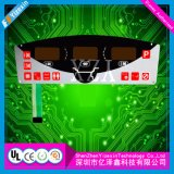 색깔 LCD Windows를 가진 금속 효력 Skillfull 제조 막 제어반