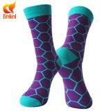 Оптовый счастливый цветастый носок нестандартной конструкции носка платья людей носка