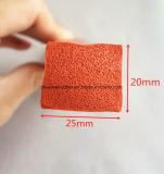 Quadratische Silikon-Schwamm-Streifen-Dichtung