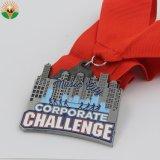 Medaglia di campionato della lega del metallo placcata argento polacco di abitudine
