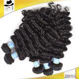 自然な見る100%のブラジルの人間の毛髪の織り方