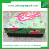 서류상 선물 상자를 인쇄하는 꽃 수송용 포장 상자 주문 마분지