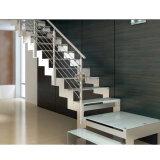 계단 오크 층계 보행 똑바른 계단을%s 단계