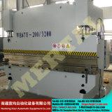 Гидровлические тормозы давления листа гибочной машины с управлением CNC