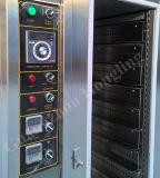10 Alta eficiencia de las bandejas de horno de convección a gas para uso comercial