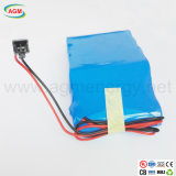 18650 batería de litio de la baja temperatura de 4s3p 14.6V 6.6ah