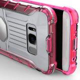 Покрасьте раковину мобильного телефона Bumber прозрачную в случай галактики S8 Samsung