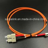 Câble à fibre optique SC-LC/PC 9/125 les cordons de brassage Simplex