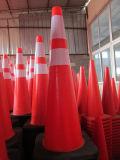 "cône orange élevé de circulation de 18 "" 2.5 livres"