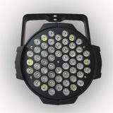 DMX 기능 통제를 가진 단계 전등 설비 LED PAR54 빛