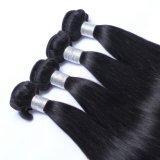 Tangle soyeux brésilien gratuit en ligne droite de l'armure des extensions de cheveux