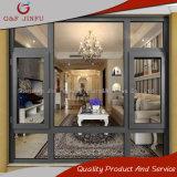 G&F Jinfu armazón de aluminio Casement Ventana con caucho EPDM