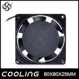Ventilador de ventilação axial sem escova pequeno do Ec da C.C. da C.A. de Ec8025 80X80X25mm