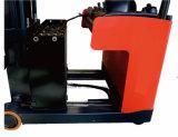 1.4-2 Tonnen-Türrahmen-vorderer beweglicher elektrischer Gabelstapler Sitzen-auf Reichweite-LKW