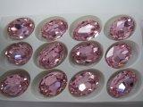 pietra operata di cristallo ovale di 10*14 13*18 per la fabbricazione dei monili