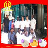 50t por 24h el equipo de molienda de harina de maíz de Zambia