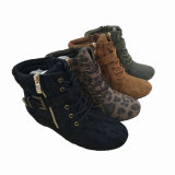 Heeled Ankle Winter Boots方法女性