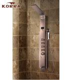 Panel de ducha de acero inoxidable, Ducha columna con la visualización de temperatura (K2216-1)
