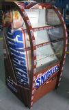 Витрина холодильника супермаркета коммерчески типа охладителя Upright вершины открытого