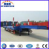 Venta directa 30ton, 50 toneladas, 60ton, 80ton, del cargador inferior 100ton de Lowboy de la base acoplado inferior de la fábrica de China del carro semi