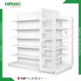 Supermercado Gondola de metal de mercearia estantes para venda