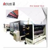 Машина штрангя-прессовани плитки PVC пластмассы поставщика Китая Corrugated