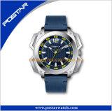 Kundenspezifisches Soem überwacht Swatchful eindeutigen Fall, lederne Uhr zu formen