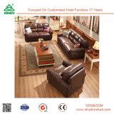 Mobília de couro macia genuína secional moderna nova do sofá de Italy Nappa