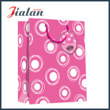 Pink Color Wholesales Logo Laminé Custom Mother`S Day Paper Bag