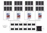 Het Controlemechanisme van het Zonnepaneel MPPT 30AMP 12V/24V/36V/48V voor het Laden van Systeem