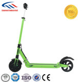 Scooter électrique d'écran LCD de roue de moteur de 8 pouces