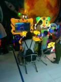 Macchina a gettoni del gioco della galleria dei nuovi del robot del gioco giocatori della macchina 2 per i capretti