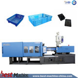 La BST-4500D'UN CAS DE RECYCLAGE DE PLASTIQUE Machine de moulage par injection