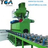 El óxido de tubo de acero extracción Granallado Máquina de limpieza