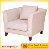 Il sofà molle grigio moderno dello strato della mobilia del salone del tessuto ha impostato l'insieme del sofà del tessuto del sofà delle tre sedi