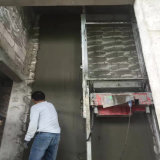 Machine automatique de jet de plâtre de la colle de construction