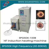 30-80kHz het Verwarmen van de Inductie van de hoge Frequentie Machine 100kw Spg50K-100b