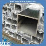 닦는 지상 건축자재 관을%s 가진 냉각 압연된 스테인리스 사각 관