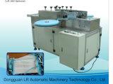 Cadena de producción no tejida mascarilla que hace la máquina