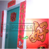 Alta eficiência cintilante de pó de ouro máquina automática para Calendário